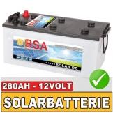 BSA Solarbatterie 280Ah 12V