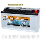 WINNER Solarbatterie 100Ah Wohnmobil Versorgungsbatterie