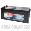 BSA Solarbatterie 12V 220Ah Versorgungsbatterie