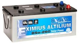 BaSBa Solarbatterie BSo-260 260 AH 12V Versorgungsbatterie
