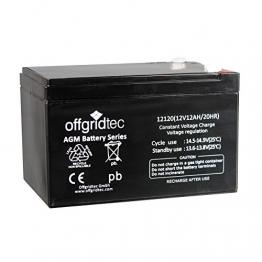 Offgridtec AGM Solar Batterie