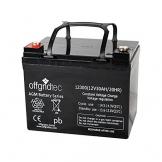 Offgridtec 32 Ah 12 V AGM Solar Batterie für zyklische Anwendungen, 2-01-001480 -