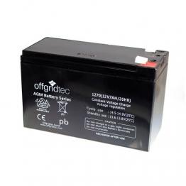 Offgridtec 7 Ah C 10 AGM Solar Batterie für zyklische Anwendungen, 2-01-001000 -