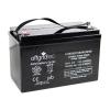 Offgridtec AGM Solar Batterie für zyklische Anwendungen, 101 Ah / 12 V, 001004 -