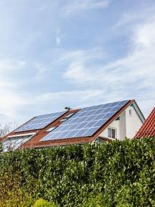 Photovoltaik auf einem Dach